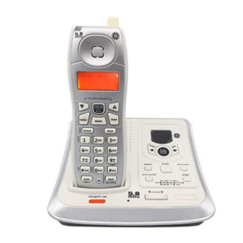 AA-phone DIANH UK Telefon-Home Office Universal Digital Schnurlostelefon Wireless Festnetz Anruferkennung Telefon Willkommen (Farbe: B)
