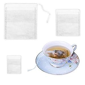 Vuoto bustine di tè tè sfuso foglie erbe spezie bustina (300pz)
