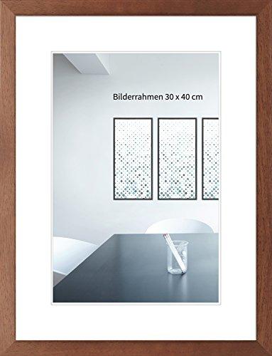 WANDStyle Bilderrahmen H430 Modern aus Massivholz mit Normalglas Farbe: Kirschbaum Größe: 29,7 x 42 (A3) cm