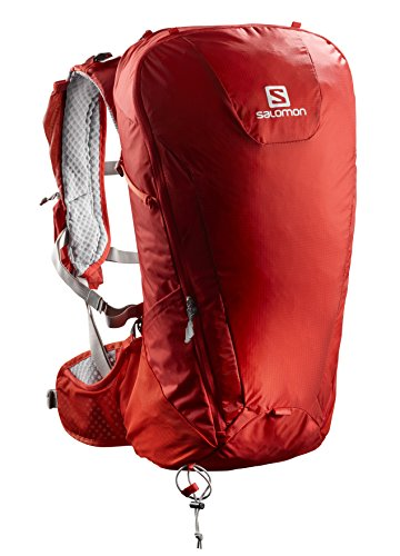 Salomon Leichter Ski-Rucksack, Peak 30, rot/dunkelgrau (red/dark grey), 30 L, L40118800