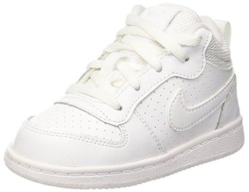 Nike Court Borough Mid (Td), Sneakers basses mixte bébé