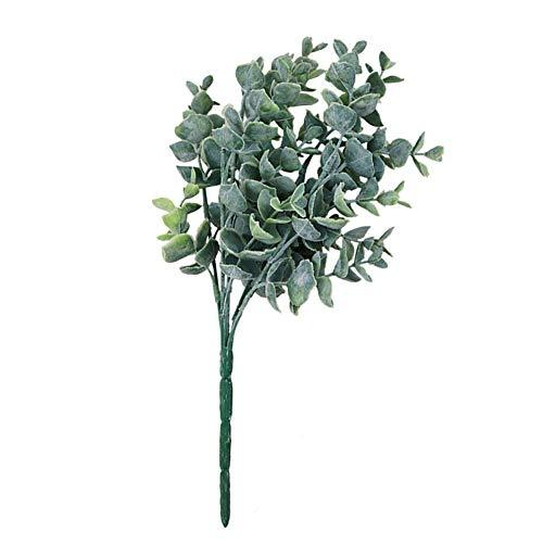 ünstliche Eukalyptus Gefälschte Blätter Pflanze Hochzeit Dekoration Licht Grün Langlebig und Nützlich ()