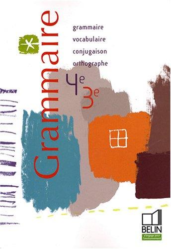 Grammaire 4e-3e