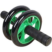 ZHANGYUSEN Doble Rueda Push-Ups Entrenamiento Muscular del Abdomen Gimnasio de Musculación Home Equipamiento Fitness Entorno Tienda Silencio XR-Hot,Verde