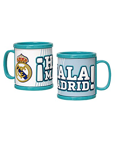 REAL MADRID Taza de rubber 3D