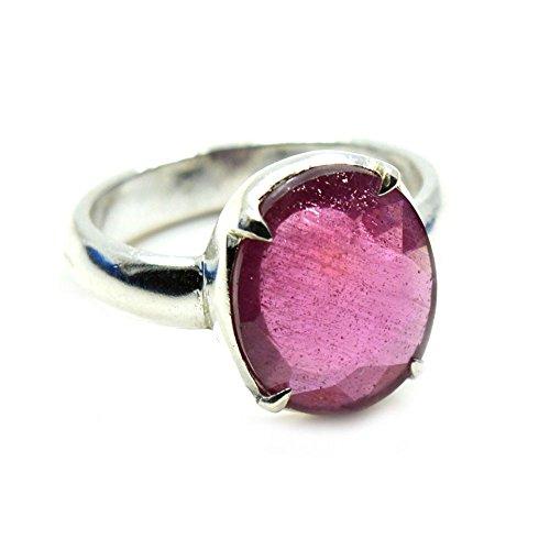 55Carat Herren -  Nicht zutreffend  Silber Ovalschliff   pink/rosa