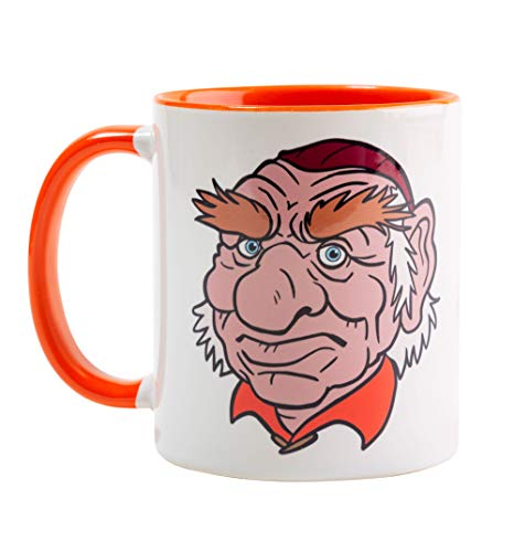 Labyrinth Hoggle Orange Handle Mug