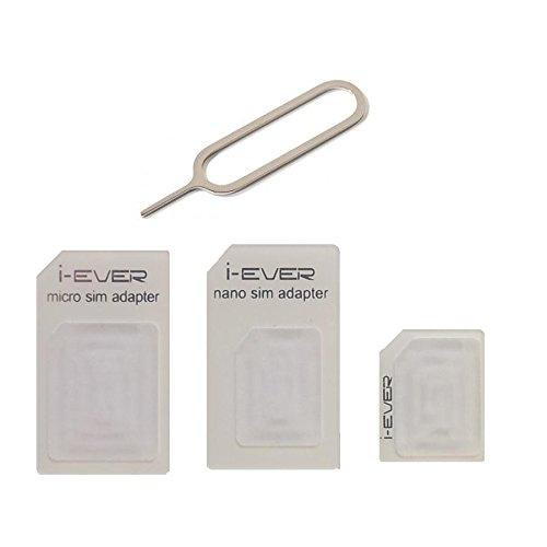 Sim Card Adapter 3in 1Für Micro und Nano Sim-1Stück - 3 Stück Pub