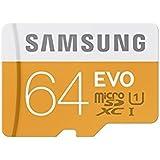 Samsung Carte Mémoire EVO Micro SD Classe 10 MB-MP64D/EU 64 Go Sans adaptateur SD