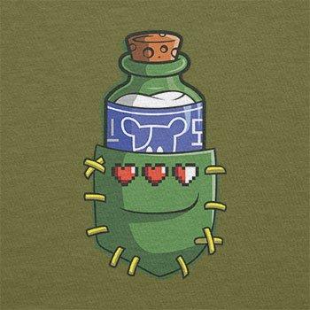 TEXLAB - Potion in a Pocket - Herren T-Shirt Oliv