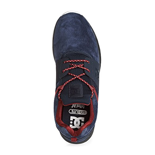 DC Shoes  Heathrow LE, Sneakers basses homme Bleu - Navy/Red