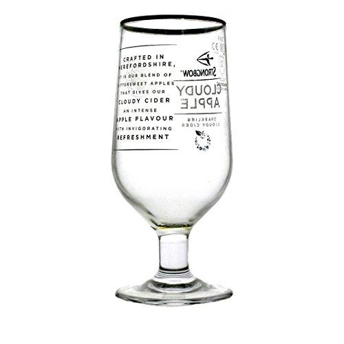 Preisvergleich Produktbild Set von 2One Pint Strongbow Bewölkt Cider Pint Gläser