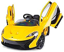 McLaren Electric Kids Ride on Car,Yellow