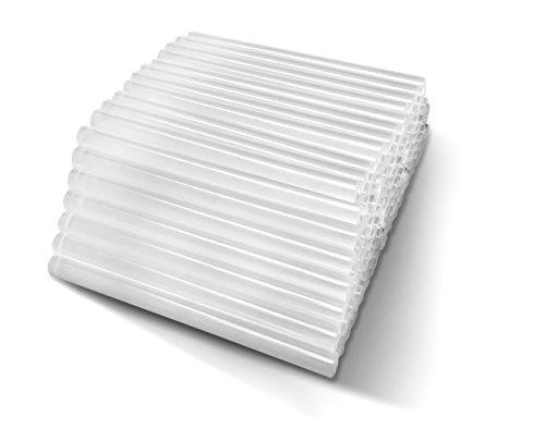 Amdai 100 Bâtons de Colle - Bâtons de Colle Transparents 7mm de Diamè