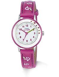 Prinzessin Lillifee Mädchen-Armbanduhr Analog Quarz Kunstleder 2013211