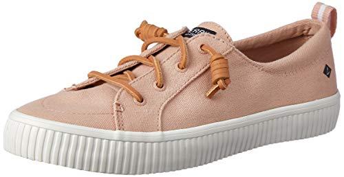 Sperry Top-Sider Women's Crest Vibe Creeper Linen Sneaker - Sperry Leinen Topsider