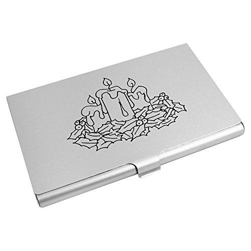 'Weihnachtskerzen' Visitenkartenhalter / Kreditkarte Geldbörse (CH00002069)