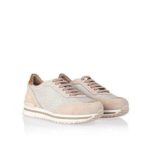 Scarpa Donna Sneaker Glitter Taglia 38  aad5d1ff28a