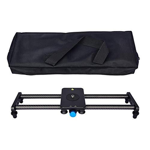 Blue-Yan tragbarer Kamera-Recorder Silent - Tracking Slider Dolly Track mit 4 Rollenlager - für Videofilmfotografie Für YELANGU (Kohlefaser)