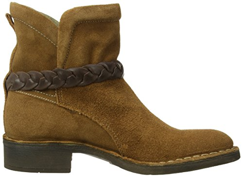 Fly London FAVE, Bikers non imbottiti, corti donna Marrone (Braun (Camel/Dk. Brown 001))