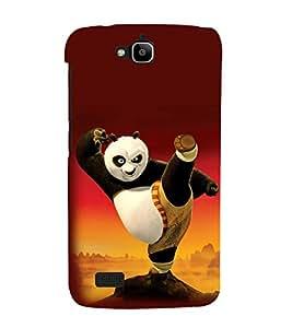 printtech Kungfu Panda Back Case Cover for Huawei Honor Holly