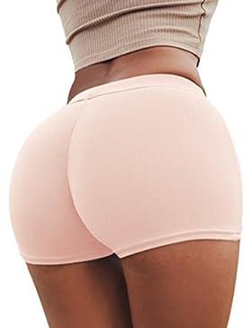 Donne Pantaloncini Moda Tinta Unita Hot Pants Skinny Shorts