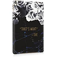 That's What She Said Saphire Marble Roses Hard Plastic Protective Snap On Case Cover For Apple iPad Pro