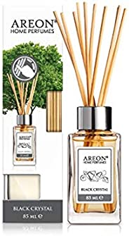 Areon Home Perfume Reed Diffuser 85 ml 10 Rattan Reeds - Black Crystal