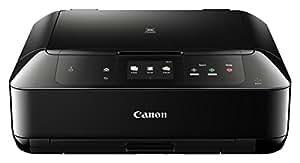 Canon Pixma MG7750 Farbtintenstrahl-Multifunktionsgerät (Drucken, Scannen, Kopieren, 8,8 cm (3,46 Zoll) Touchscreen, NFC, WLAN, Print App, Duplex, 2 Papierkassetten, 9,600 x 2,400 dpi) schwarz