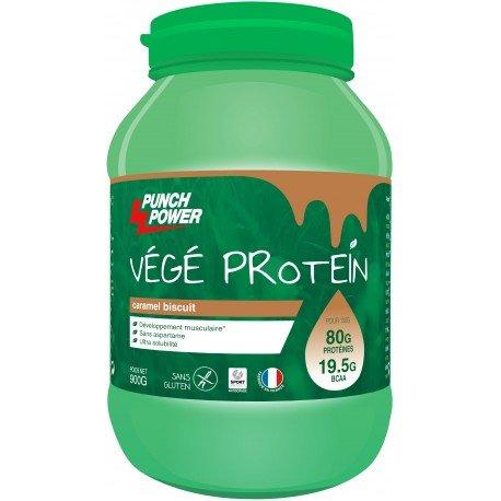 végé Protein Gusto Caramello biscotto–Vaso 900g