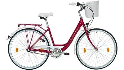 PERFORMANCE Citybike Damen Pisa, 26/28 Zoll, 3 Gang, Rücktrittbremse 66,04 cm (26 Zoll)