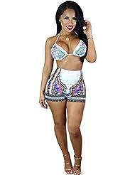 Ularma 2016 Bikiní de las mujeres traje de baño bandeau con relleno, Push-up Bra acolchado traje de baño