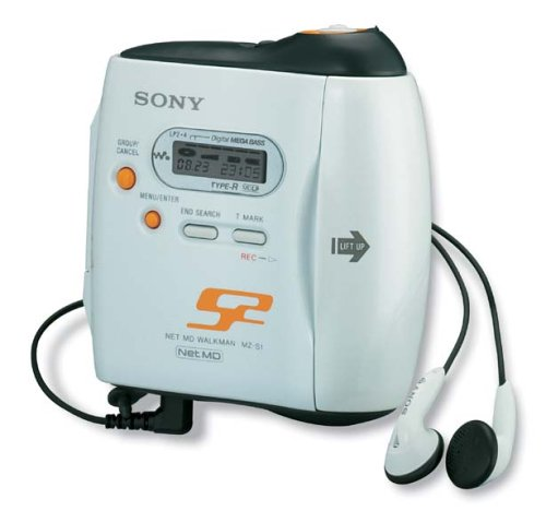 Sony MZ-S1 Net MD Walkman Person...
