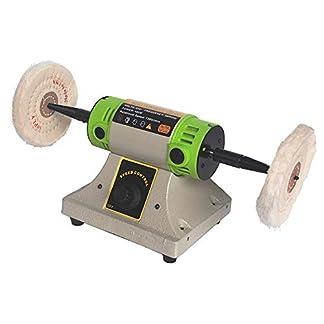 Pulidor de banco Torno Lijadora Amoladora Máquina eléctrica de pulido Joyería Pulido Motor de la herramienta 220V