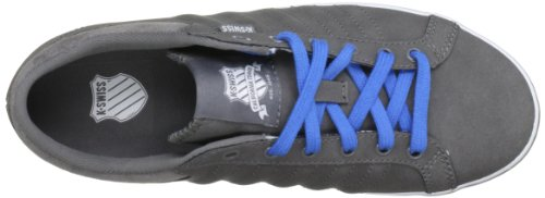 K-Swiss Hof Iv Vnz, Chaussure de sport mixte adulte Carbon/White/Brilliant Blue