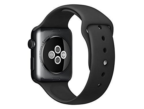 41HACRhW5%2BL - [Gravis] Apple Watch Space Schwarz Stainless Steel mit Sportarmband 42mm für nur 239€