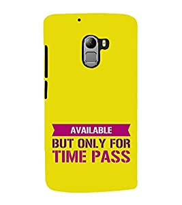 HiFi Designer Phone Back Case Cover Lenovo Vibe K4 Note :: Lenovo K4 Note A7010a48 :: Lenovo Vibe K4 Note A7010 ( Funky Quotes on Being Single Available )