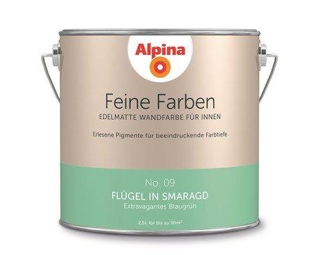 Alpina Feine Farben Flügel in Smaragd 2,5 LT - 898595
