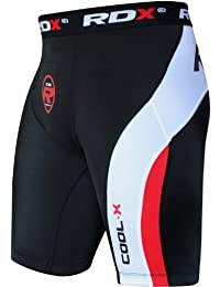 RDX Neoprene Compression de Short Tight Homme Cuissard Running Caleçon Boxer Sport Triathlon