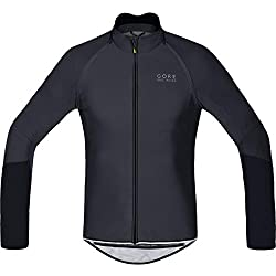 Gore Wear Power Zip-Off Maillot, Hombre, Negro (Black), XS