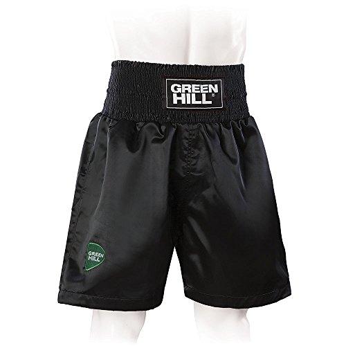 Green Hill Boxing Short Professional (Black, Medium) - Nike Shorts Boxing