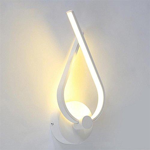 GBT Led Aluminium Wandleuchte Korridor Schlafzimmer Nachttisch Lichter (LED-Leuchten, warmes Licht, weißes Licht, Kronleuchter, Innenbeleuchtung, Außenleuchten, Wandleuchten)