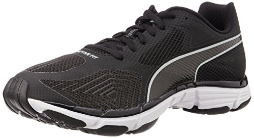 f7236ca9839d88 Puma 18815604 Men S Mobium Ride V2 Black And Quarry Mesh Running Shoes 10 Uk-  Price in India