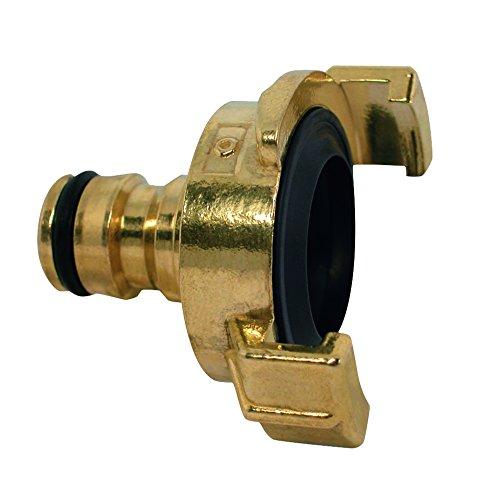 OASE Promax Schnellkupplung auf Klickkupplung, 1 Stück, Messing, 44541