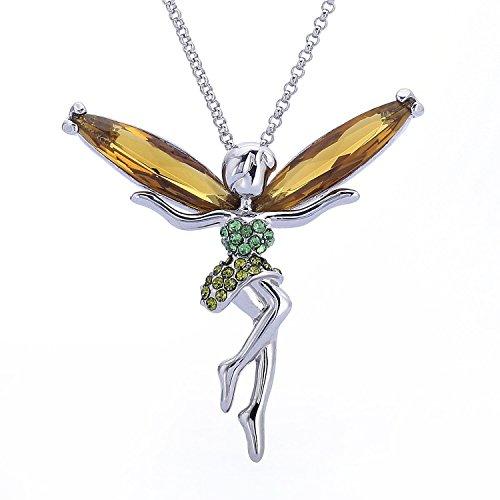 LYNN VIKI collana con ciondolo a forma di fata, per Donna , colore: F, cod. JPFN000937DE