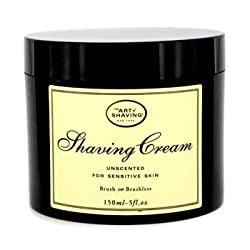 The Art Of Shaving Shaving Cream - Unscented (For Sensitive Skin, Unboxed)- 150ml/5oz