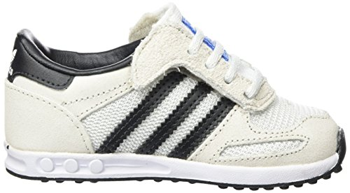 adidas la Trainer, Scarpe Running Unisex – Bambini Bianco (Vintage White/core Black/clear Brown)