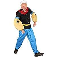 Seemann Comic Held Kostüm für Herren S - XXL