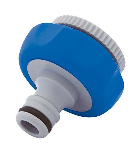 AQUA CONTROL aquacontrol - C2421 Adaptador Grifo Gris Azul 7x13.5x3 cm