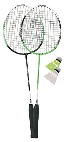 Talbot Torro Set Badminton-Schläger 2-Attacker im Thermobag (2014), Grün Weiß, 449511 - 3